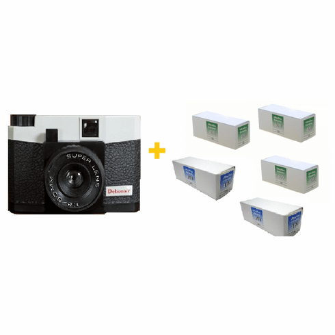 The Debonair Xtrodinaire Film and Camera Package