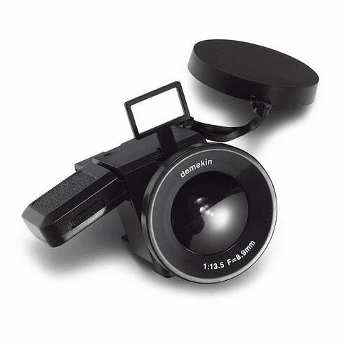 The Demekin 110 Fisheye Film Camera