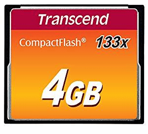 Transcend 4gb Compact Flash Card