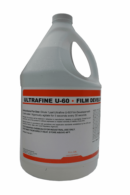 UF-60 Universal Liquid Film Developer 1 Gal. to make 10 Gal.