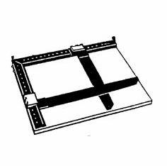 "Ultrafine 11"" x 14"" Adjustable Enlarging Easel"