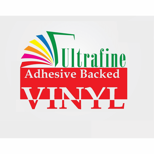 "Ultrafine Adhesive Backed Vinyl 8.5"" x 11"" / 50 Sheets"