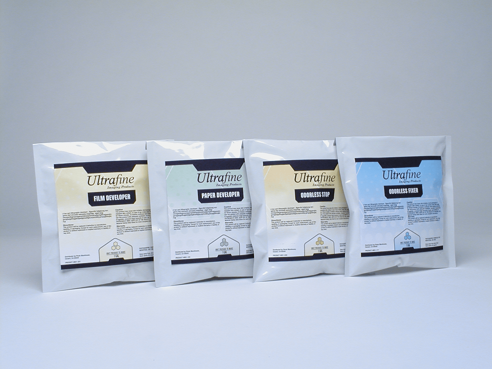 UltraFine B & W Photo Powder Chemicals