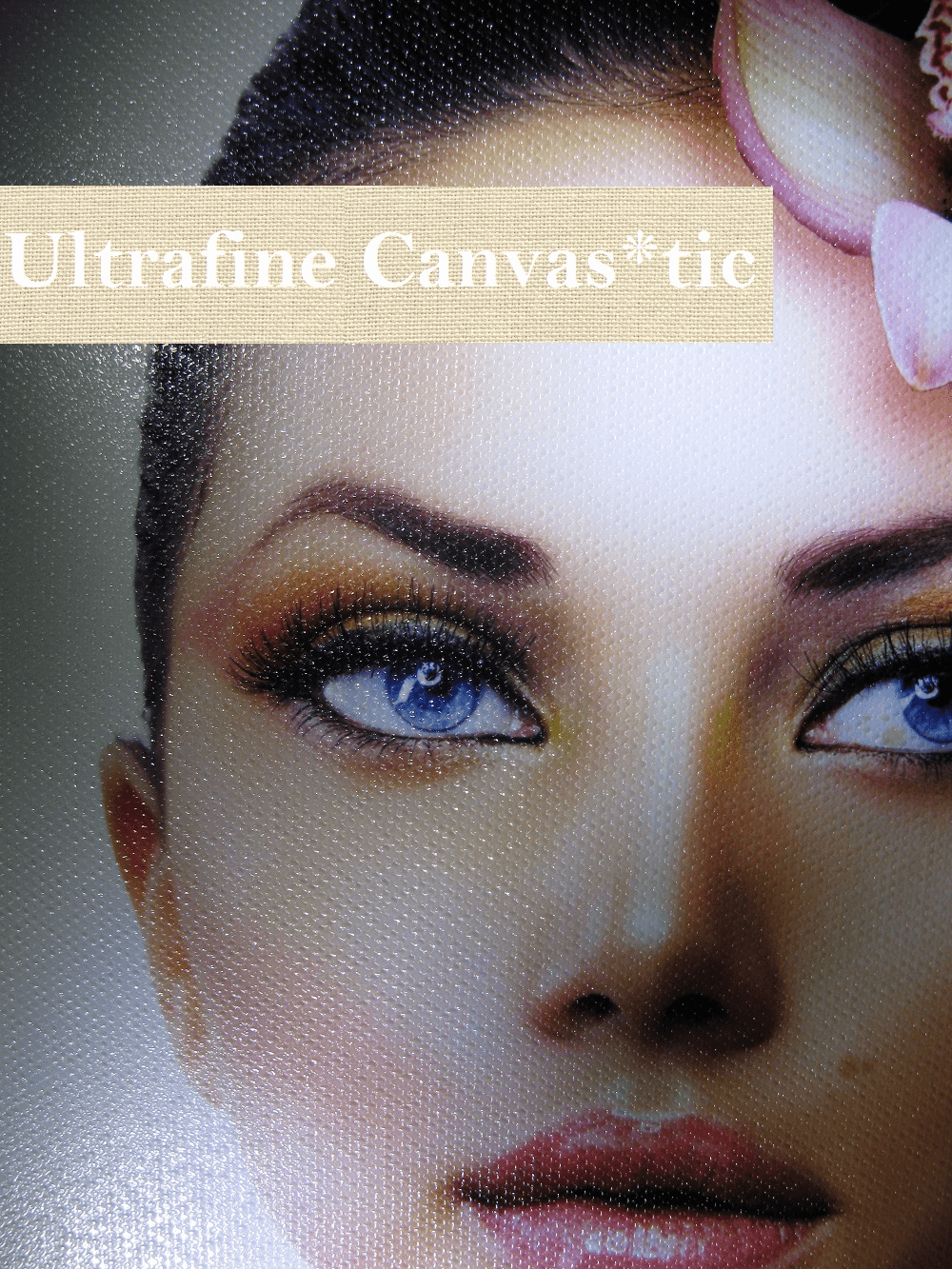 "Ultrafine Canvas*tic Canvas Textured Matte Fabric Photo Inkjet 19 Mil 24"" x 75' Roll"
