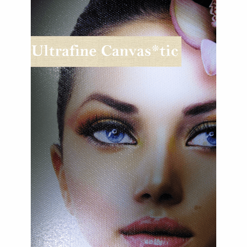 "Ultrafine Canvas*tic Canvas Textured Matte Fabric Photo Inkjet 19 Mil 44"" x 75' Roll"