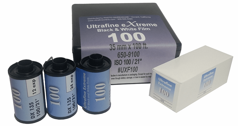 Ultrafine eXtreme Black & White Film ISO 100
