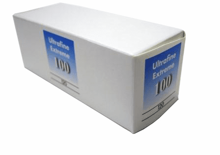Ultrafine eXtreme Black & White Film ISO 100 120 Format