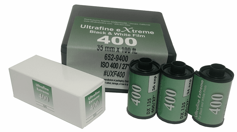 Ultrafine eXtreme Black & White Film ISO 400