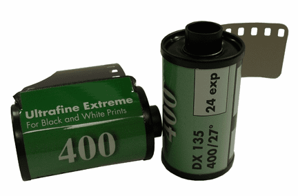 Ultrafine eXtreme Black & White Film ISO 400 35mm x 24 exp.