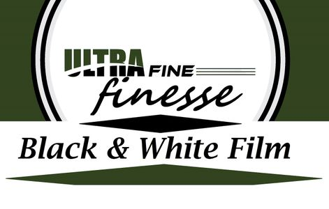 Ultrafine finesse Black and White Film