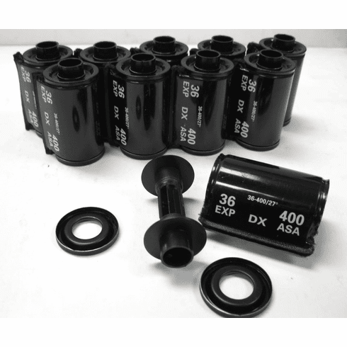 Ultrafine Heavy Duty 35mm Metal Snap-Caps DX400 Coded Pack of 10