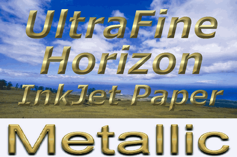 Ultrafine Horizon Pro Grade METALLIC Photo Quality GLOSSY 10.2 Paper
