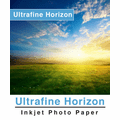 "Ultrafine Horizon Professional Grade Photo Quality Gloss 10.2 Paper 4"" x 33 Ft. Roll (2 Rolls)"