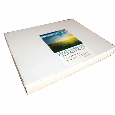 Ultrafine Horizon Professional Grade Photo Quality Lustre 10.2 Paper 8.5 x 11 / 100