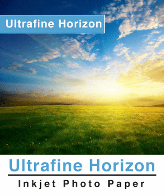 Ultrafine Horizon Professional Grade Photo Quality Lustre 10.2 Paper 8.5 x 11 / 5 Sheets