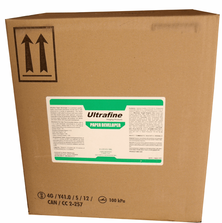 Ultrafine Liquid Paper Developer - 5gal, to make 25-100 gals