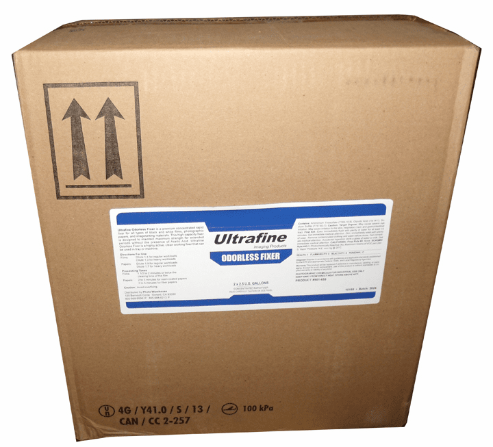 Ultrafine Odorless Fixer - 5gal, to make 20-50 gals