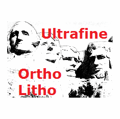 "Ultrafine Ortho Litho Film 16"" x 20"" / 10 Sheets .004"