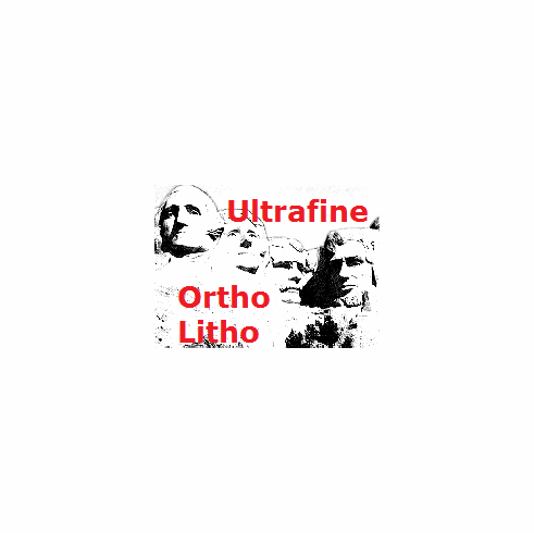 "Ultrafine Ortho Litho Film 8"" x 10"" / 25 Sheets .004"