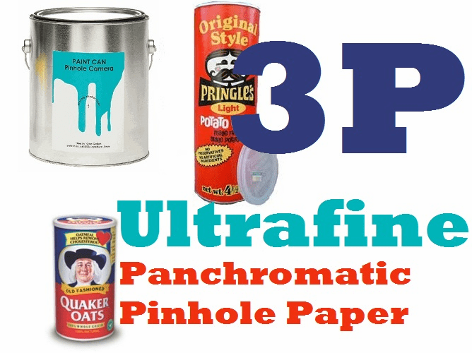 "Ultrafine Panchromatic Pinhole Paper for Pinhole Exposure 4"" x 5"" / 100 sheets Pinhole Camera Size"