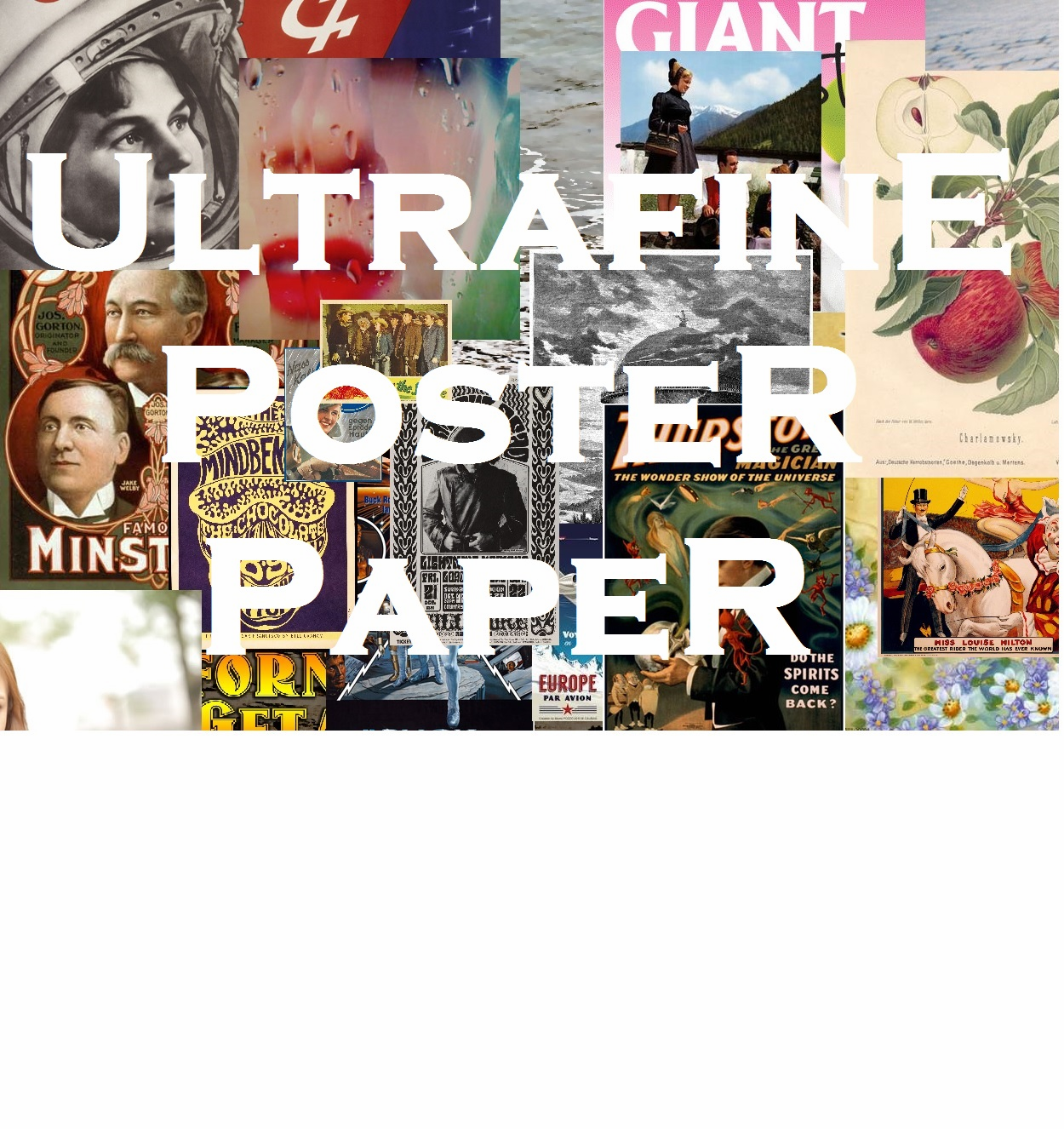 Ultrafine Poster Papers