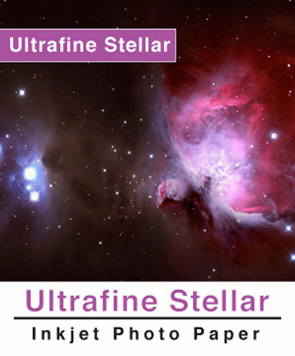 Ultrafine Stellar 8 Luster Photo Paper 8.5 x 11 / 5 Sheets
