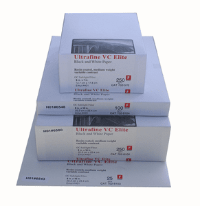 Ultrafine VC ELITE Glossy Variable Contrast RC Black-and-White Multigrade Paper