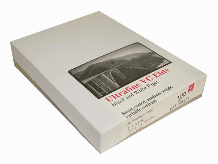 Ultrafine VC ELITE Glossy Variable Contrast RC Paper  5 x 7 / 100