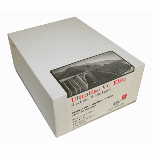 Ultrafine VC ELITE Glossy Variable Contrast RC Paper  5 x 7 / 250