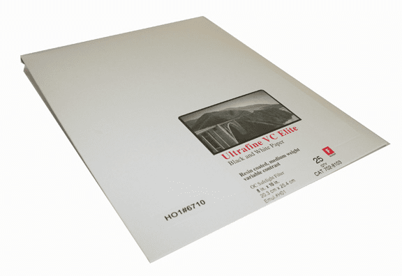 Ultrafine VC ELITE Glossy Variable Contrast RC Paper  8 x 10 / 25