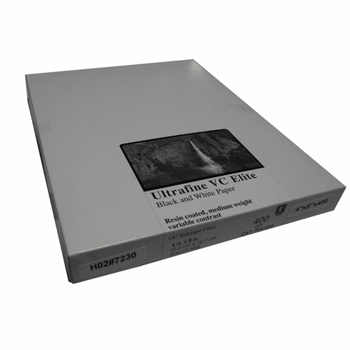 Ultrafine VC ELITE Pearl Variable Contrast RC Paper  4 x 5 / 400