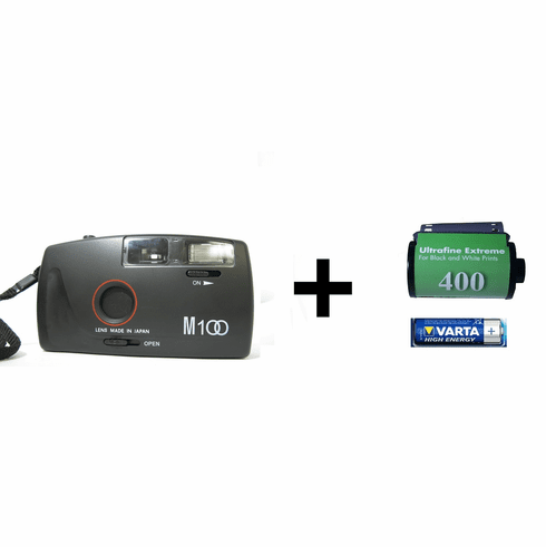 Ultrafine Xtreme 35mm Black-and-White Film Assignment Camera