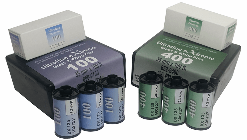 Ultrafine Xtreme Black & White Film