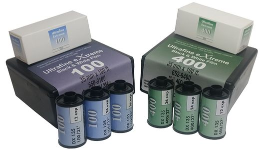 Ultrafine eXtreme Black & White Film