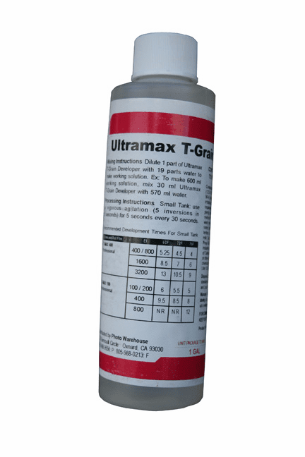 Ultramax T-Grain Developer Makes One Gallon