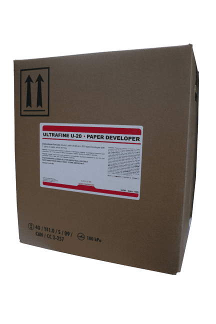 UP-20 Universal Liquid Paper Developer 5 Gal. to make 80 Gal.