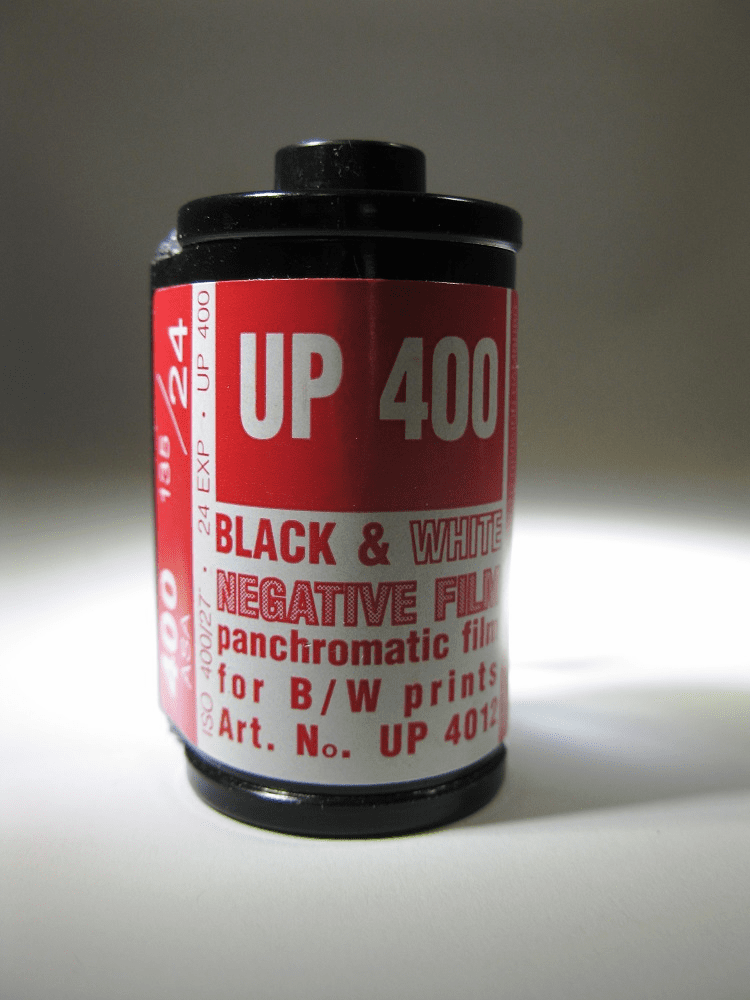 Vintage Rollei Maco UP 400 B&W Macophot Film / 35mm x 24 exp.