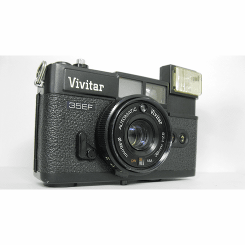 Vivitar 35EF 35 Camera w/ 1:2.8 38mm Lens - Used