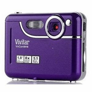 Vivitar 5018 5MP Digital Camera Purple