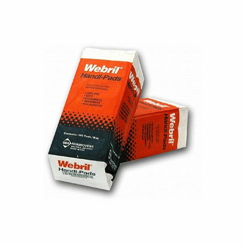 Webril Handi-Pads 4x4, 100 pad package