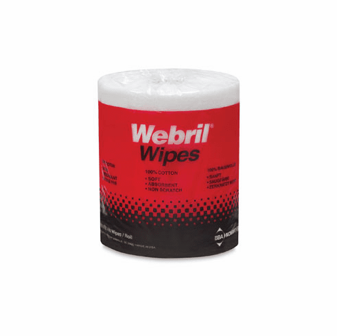 Webril Wipes 8x8 roll