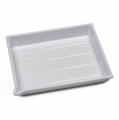 WHITE 8 x 10 Deluxe Developing Tray
