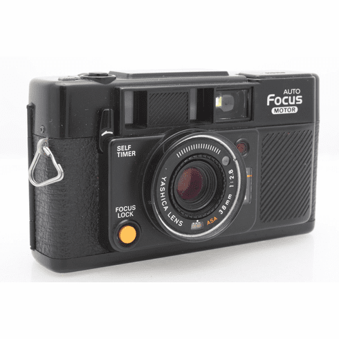 5 Star Auto >> Yashica 5 Star Auto Focus Motor 35mm Camera W Zykor Auxilary Lenses Used