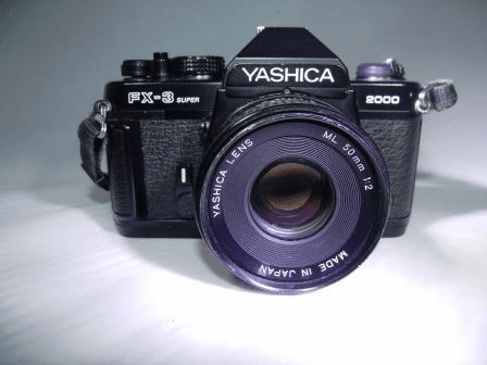Yashica FX-3 35mm SLR Student Camera with 50mm Lens - Used