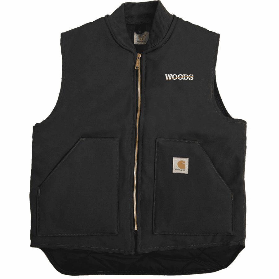 Carhartt Duck Vest with Arctic-Quilt Lining