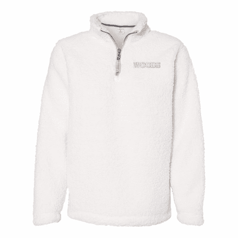 J. America Ladies' Epic Sherpa Quarter-Zip Pullover