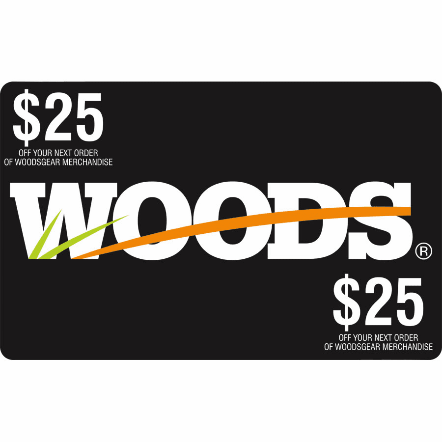 Woods Gift Card