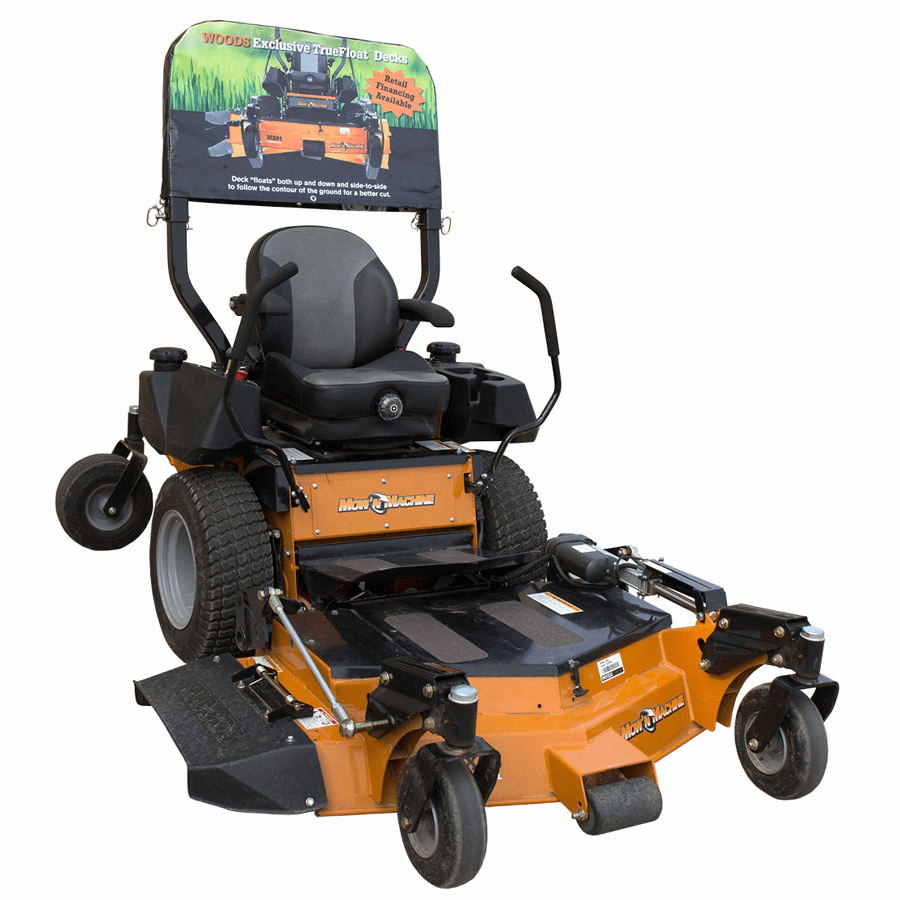 Woods ROPS Cover for Floating Deck Mowin' Machine
