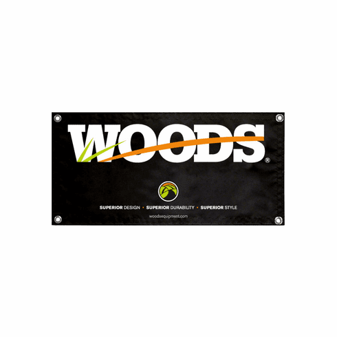 Woods Trade Show Banner