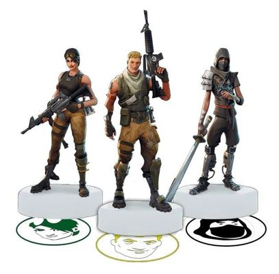 Fortnite Novelty Stampers Series 1 5 Pack